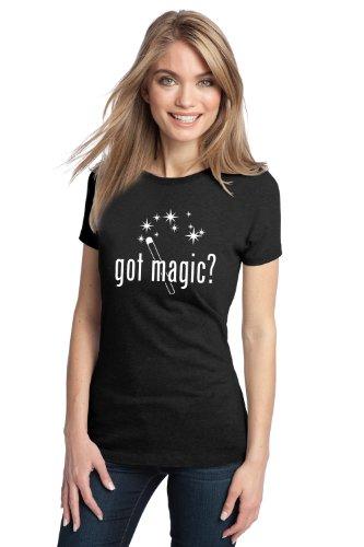 GOT MAGIC? Ladies' T-shirt / Cool Magic Fan / Magician Wand Tee Shirt