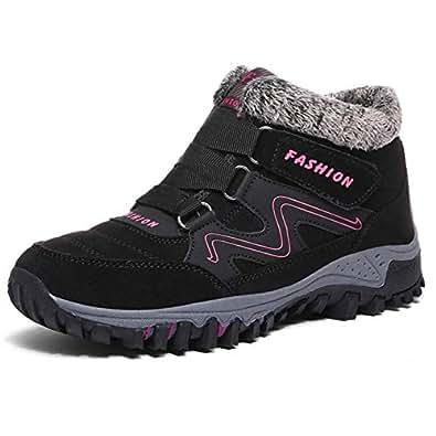 Amazon.com   Qiucdzi Womens Winter Snow Boots Warm Fur