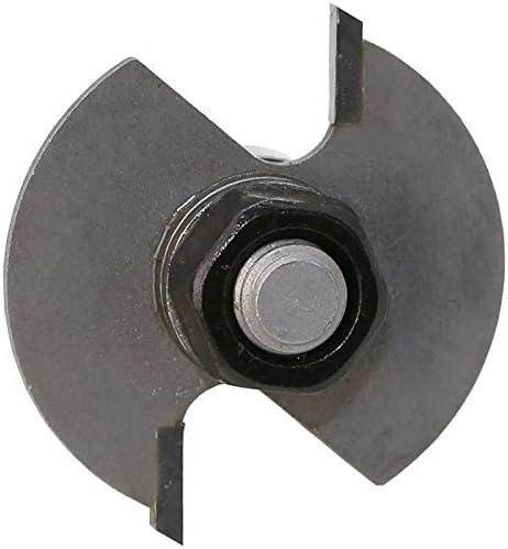 NO LOGO ZZB-ZT, 1 Stück 8mm Schaft Industriequalität T Typ Lager Holz Fräser Rabbeting Bit Werkzeug Fräser for Holzbearbeitung (Size : As Show)