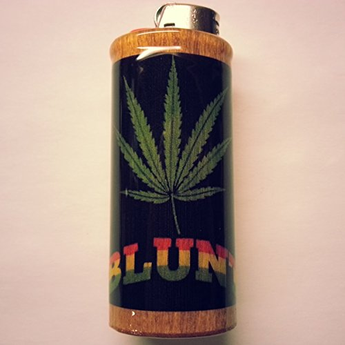 Blunt-Lighter-Case-Weed-Marijuana-Ganja-Lighter-Holder-Lighter-Sleeve