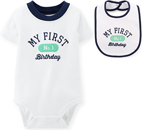 Carters First Birthday Bodysuit Matching