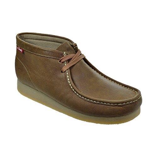 Clarks Padmore II Men's Suede Casual Shoes Brown Brown 63366-8