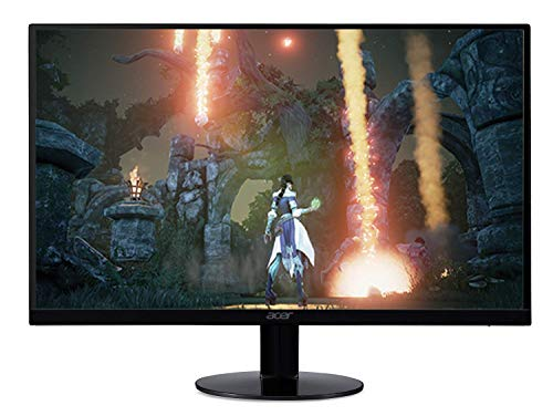 Acer SB0 23in Widescreen Monitor Display Full HD 1920 x 1080 1 ms 75 Hz IPS (Renewed)