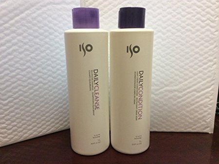 ISO Daily Cleanse Balancing Shampoo and Conditioner 33.8 Ounce Each