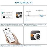 Otoscope,Wireless Ear Endoscope, WiFi Ear Scope