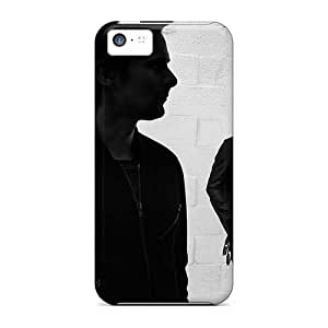 Great Hard Phone Case For Iphone 5c With Support Your Personal Customized Trendy Muse Band Pictures MarieFrancePitre