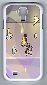 Funny Giraffe Samsung Galaxy S4 I9500 PC Case Fits S4 I9500
