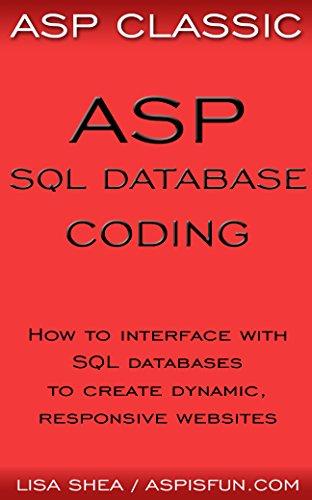ASP Classic - ASP SQL Database Coding