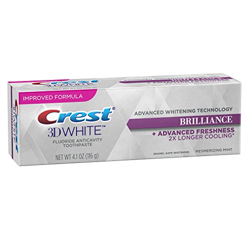 Crest 3D White Brilliance Mesmerizing Mint Toothpaste, 4.1 Ounce (Pack of 24) by Crest (Image #2)