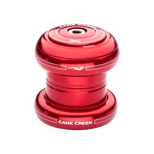 - Cane Creek 110-Series External Cup Complete for 34mm Head-Tube (1-1/8-Inch Stem Clamp Diameter), Red