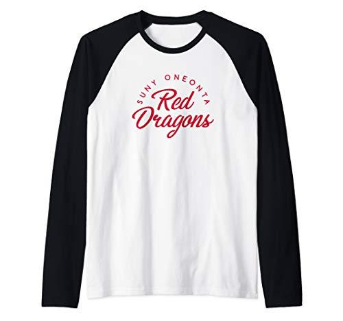 SUNY Oneonta Red Dragons NCAA RYLBA04 Raglan Baseball Tee