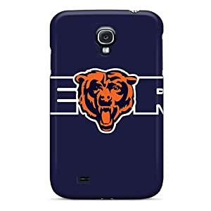 New Fashionable Little NiZi KGXOt2914BmNfq Cover Case Specially Made For Galaxy S4(chicago Bears Logo)