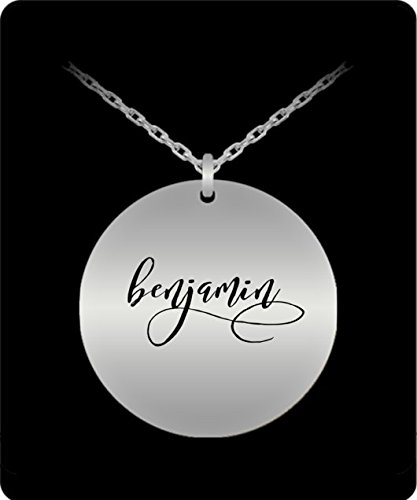 Collie Gift Box (Benjamin Pendant - Name Necklace - Personalized Charm Gift - Silver Stainless Steel - Laser Engraved - Lovely Present)