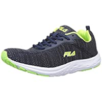 Fila Men's Grip Pea/LIM Grn Running Shoes-9 UK (43 EU) (10 US) (11006202)