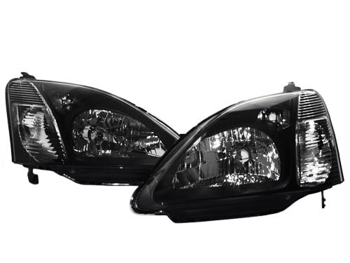 02 03 honda civic si ep3 hatchback jdm style headlights. Black Bedroom Furniture Sets. Home Design Ideas