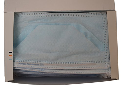 Halyard Health 49216 Duckbill Fog-Free Surgical Mask, Pouch Style, Blue (6 Boxes of 50, 300 Total) by Halyard Health (Image #9)