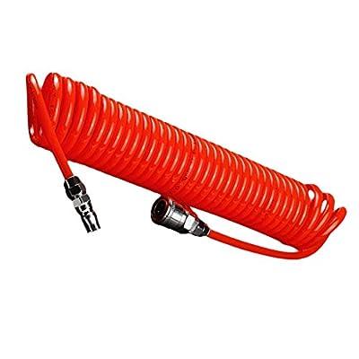 Dolity 6M 12 x 8mm Recoil Hose Portable Polyurethane Coil Hose for Air Compressor