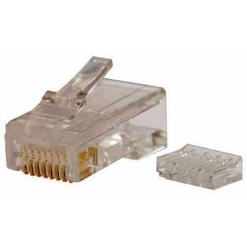 Gardner Bender GMC-88C6 Modular Plug Cat 6, 8-Pack (Modular 6 Plug Position)