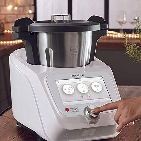 T-MIX Funda Tela Antimanchas para Robot Monsieur Cuisine Connect. Mod menaje: Amazon.es: Hogar