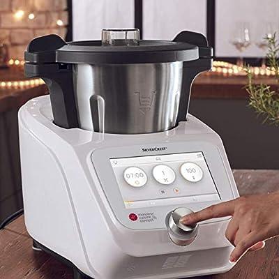 T-MIX Funda Protectora DE Tela Antimanchas para Robot DE Cocina Monsieur Cuisine Connect/Robot del LIDL/. Mod Menaje: Amazon.es