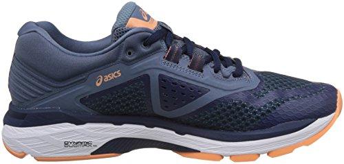 Asics Gt-2000 6, Scarpe Running Donna Blu (Indigo Blue/Indigo Blue/Smoke Blue 4949)