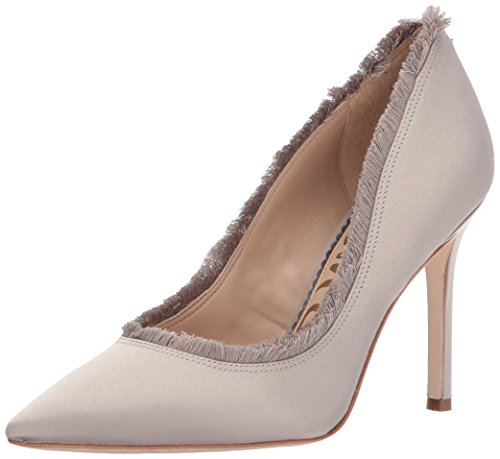 Women''s Halan Edelman Light Sam Satin Pump Grey 0UZxwwpv