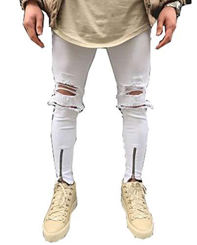 Pantalones Azul De Vaqueros Moda Slim Hombres Algodón Suave Fit Alta Los Elástico Cómodo Elásticos De Jeans Pantalones G Ssig gOdwZqn88x