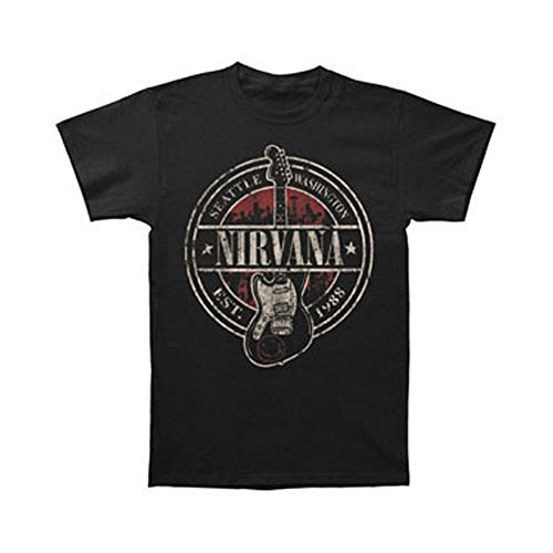 T-Shirt - Nirvana - Established 1988 Guitar Stand
