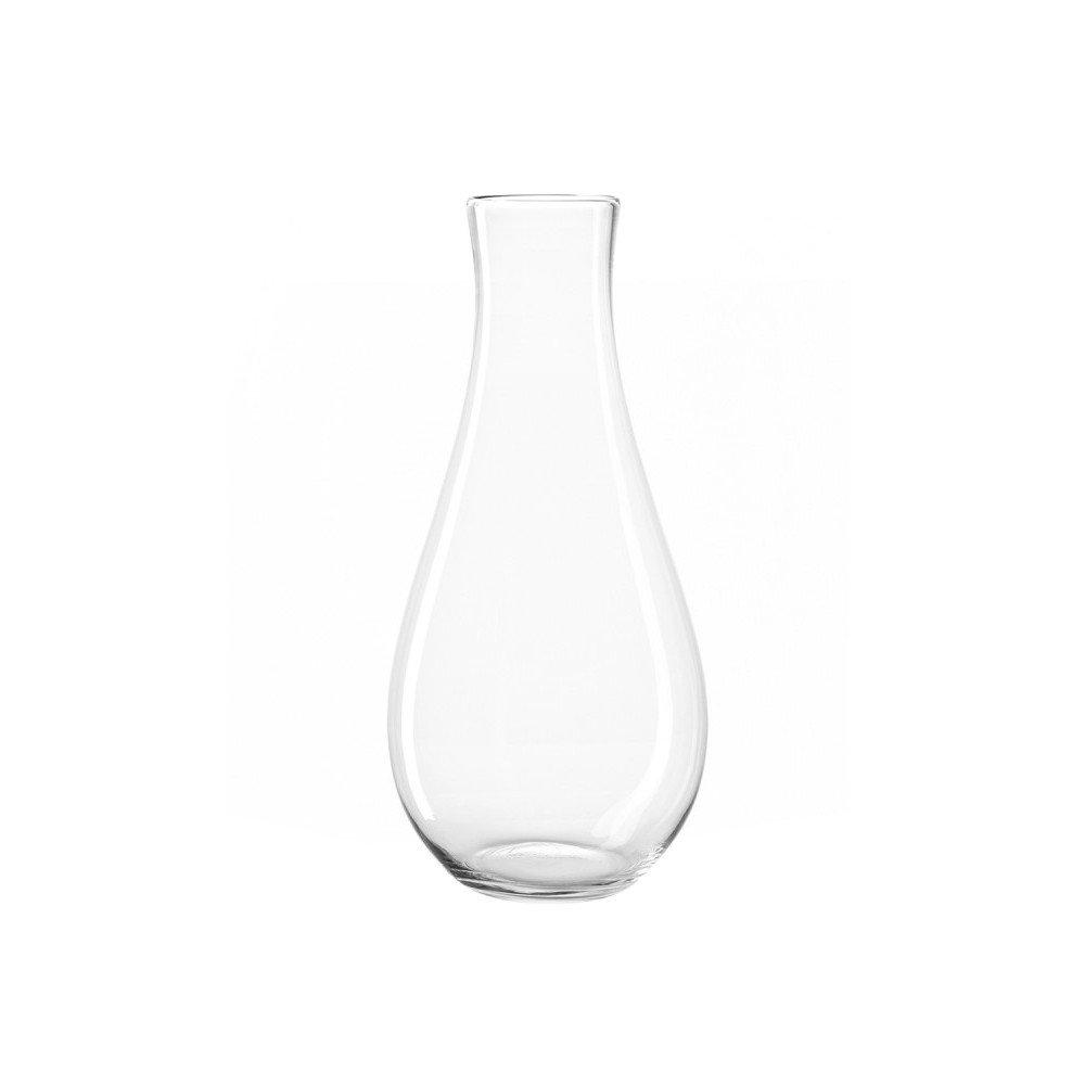 Leonardo 010385 Blumenvase mit Zylinder Glas transparent Jarron – Tischvase Blumenvase mit Zylinder, Glas, transparent, 300 mm, 300 mm, 700 mm