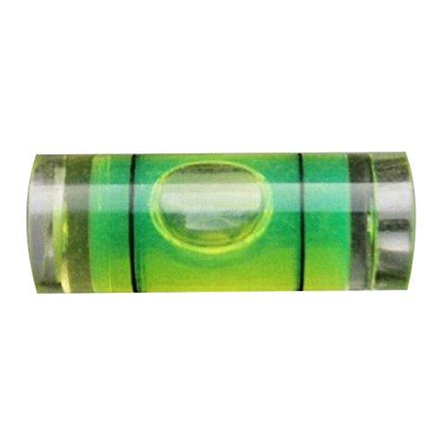 SODIAL(R) 4Pcs 9.5mm(D)X25mm Acrylic Tube Bubble Spirit Level Vial 3/8 inch =9.5mm Diameter