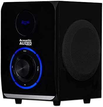 Acoustic Audio LED Bluetooth 2.1-Channel Home Theater Stereo System Black (AA2105) 41wTlCFMM2L