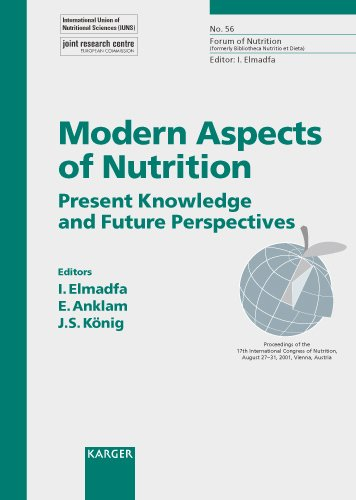 Modern Aspects of Nutrition: Present Knowledge and Future Perspectives International Congress of Nutrition, Vienna, August 2001 (Forum of Nutrition, Vol. 56) by S. Karger