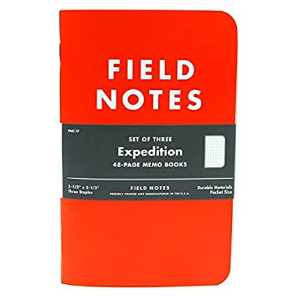 AmazonCom  Field Notes Expedition Pk  Memo Paper Pads  Office