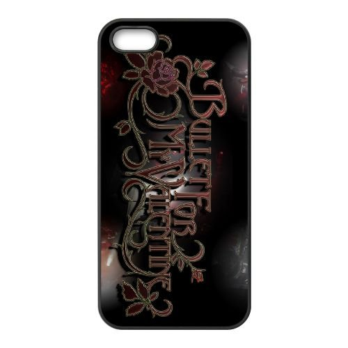 Bullet For My Valentine 001 2 coque iPhone 5 5S cellulaire cas coque de téléphone cas téléphone cellulaire noir couvercle EOKXLLNCD22572