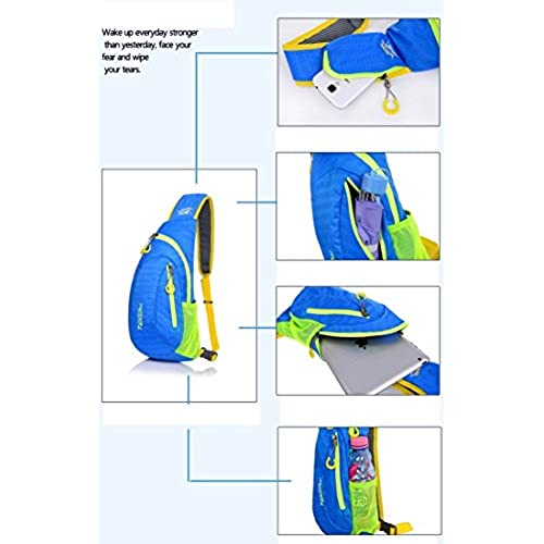 Kamabags Lightweight Shoulder Backpack Outdoor Sling Bag for Cycling Hiking