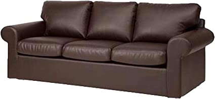 Wondrous The Ektorp 3 Seat Sofa Cover Replacement Is Custom Made For Ikea Ektorp Sofa Cover An Ektorp Sofa Slipcover Replacement New Brown Pu Leather Andrewgaddart Wooden Chair Designs For Living Room Andrewgaddartcom