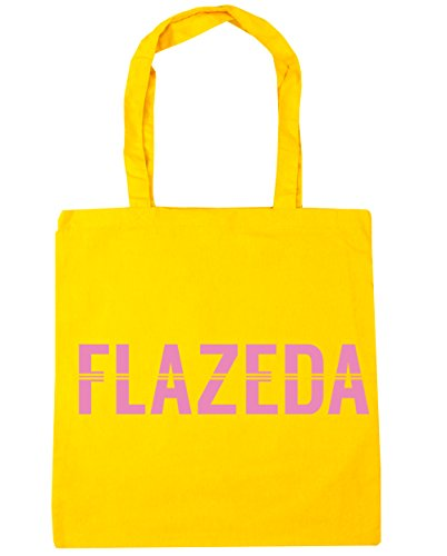 Bag Tote 10 Beach x38cm litres Shopping 42cm Gym HippoWarehouse Flazeda Yellow Hqxxwp
