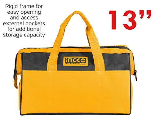 Ingco Tool Bag (HTBG28131, 13 Inches, Yellow) 2