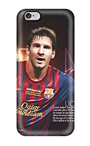 Top Quality Protection Lionel Messi Facts Case Cover For iphone 4 4s