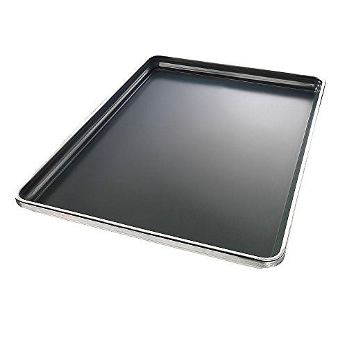 "Chicago Metallic 30858 Half-size Sheet Pan, 1"" Deep, StayFlat, Glazed 18-ga. Aluminum"