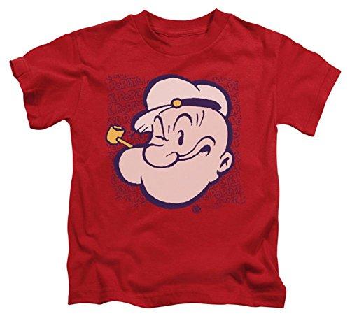 - Juvenile: Popeye - Popeye Head Kids T-Shirt Size 7