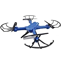 SZJJX RC Drone Assembly Remote Control FPV VR Wifi Quadcopter 2.4GHz 6-Axis Gyro 4CH Helicopter with 2MP 720P HD Camera Wide Angle Lens Time Transmission RTF SJ38