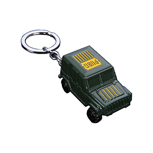 - Pubg Metal Keychain Green Car Model Keyring Pubg Metal Pendant for Collections and Gifts