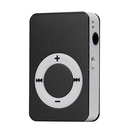 Start Mp3 Player Mini USB Digital Mp3 Music Player Support SD TF Card -Black