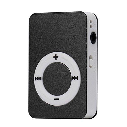 Start Mp3 Player Mini USB Digital Mp3 Music Player Support SD TF Card -Black