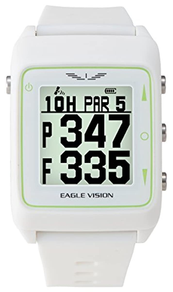 [해외] 아사히 골프 골프 네비 GPS 이글 비젼 WATCH3 시계형 EV-616