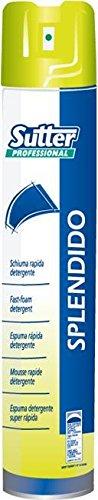 Sutter Splendido spray 500 schuimreiniger ruitenreiniging snelle kristallen en oppervlakken