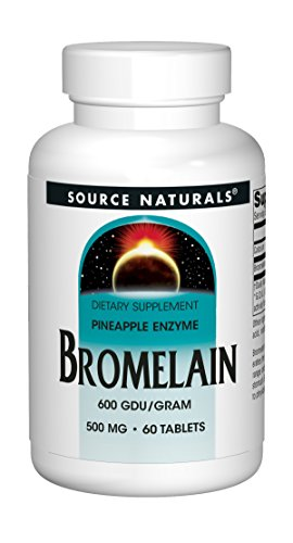 Source Naturals Bromelain 500mg Proteolytic Enzyme Supplement - 60 Tablets