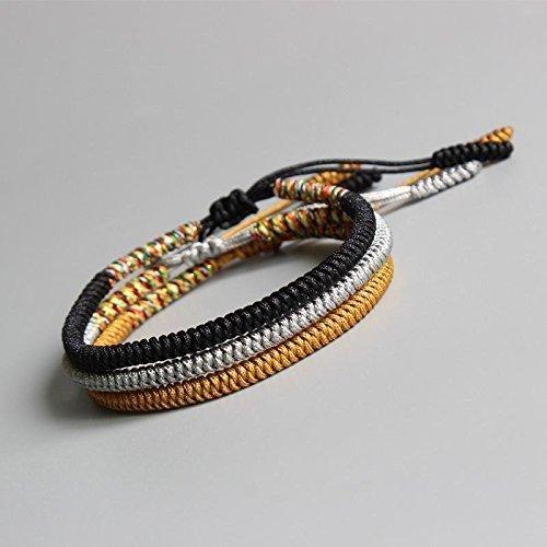 TALE Lucky Rope Bracelet Tibetan Buddhist Handmade Knots - Confidence