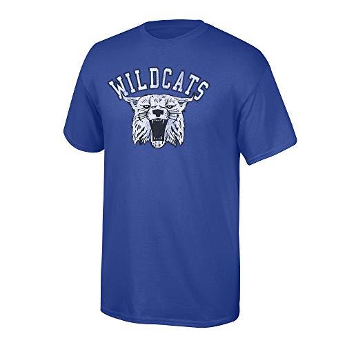 Kentucky Wildcats Tee - Elite Fan Shop NCAA Men's Kentucky Wildcats T Shirt Team Vintage Kentucky Wildcats Royal Large